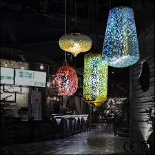 colored glass pendant lights luxury contemporary chandelier 3d glass pendant lamp modern buy