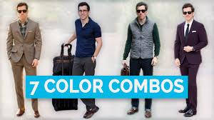 Mens Formal Wear Guide 7 Best Clothing Color Combinations For Men Color Matching Guide