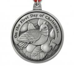 12 days of christmas ornaments 12 days of christmas ornaments personalized christmas ornament
