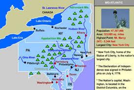 northeast map of us united states regions