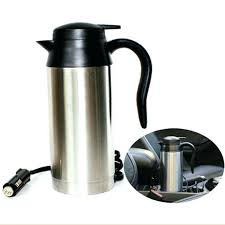 heated coffee mug electric coffee mug car heated heating cup travel hot water heater