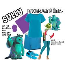 Softball Halloween Costumes Diy Halloween Costume Sully Caitycait19 Polyvore Featuring