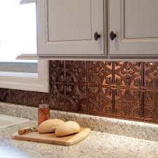 Thermoplastic Panels Kitchen Backsplash Amazon Com Fasade Easy Installation Traditional 1 Oil Rubbed
