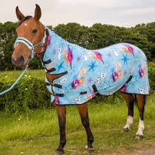 travel pony images Pony cob horse show travel stable cooler sheet printed fleece jpg