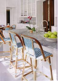 rattan kitchen furniture furniture rattan counter stools with back also granite counertop