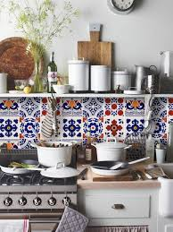 removable kitchen backsplash kitchen backsplashes tile decals quadrostyle mexican mix