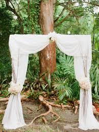 wedding arch pvc pipe rustic chic miami wedding modwedding