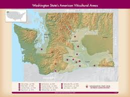 Map Of Sequim Wa Washington State Wineries Map Washington Wine Map