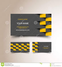 collection of yoga and zen business card templates stock image