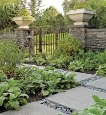 Backyard Pictures Ideas Landscape Inexpensive Stone Walkways And Types Stone Walkway Walkways And