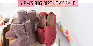 ugg sale event save big on coach ugg frye and more with the 6pm big birthday
