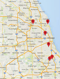 Map Downtown Chicago Chicago Crime Map February 22 27