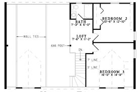 one bedroom one bath house plans log style house plan 3 beds 2 50 baths 1810 sq ft plan 17 494