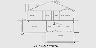 house plan with basement duplex house plan duplex house plans basement affordable d 456