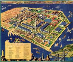 Sf Bay Map Treasure Island San Francisco Map Michigan Map