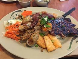 cuisine types the signature broken rice with 10 different types of food is