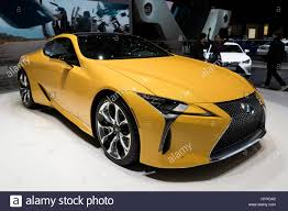 2018 lexus lc 500 new geneva switzerland march 7 2017 new 2018 lexus lc500 luxury