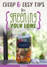 52 easy ways to go green at home without going broke