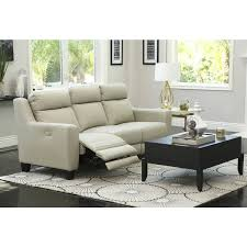 Powered Reclining Sofa Abbyson Stanford Grey Leather Power Reclining Sofa Free Shipping