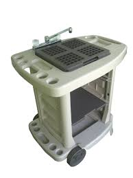 Oztrail Camp Kitchen Deluxe With Sink - portable camping kitchen with sink affordable portable camping