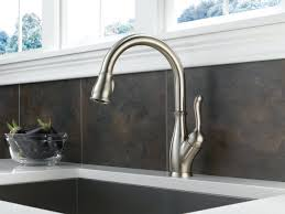 delta brushed nickel kitchen faucet faucets delta brushed nickel faucets creations images ideas for
