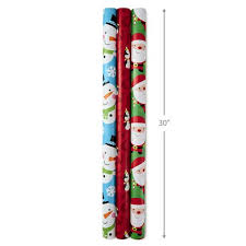 reversible christmas wrapping paper hallmark kids reversible christmas wrapping paper rolls walmart