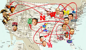 Clemson University Map Who U0027s The Boss Ranking College Football U0027s New Head Coaching Hires