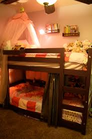 Little Girls Bunk Bed by Ana White Bunk Beds For A Small Room Diy Projects