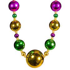 jumbo mardi gras mardi gras jumbo bead 44 necklace
