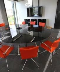 Black Glass Boardroom Table 33 Best Meeting Tables Images On Pinterest Meeting Table Office
