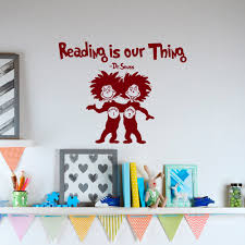 Winnie The Pooh Wall Decals For Nursery by Reading Is Our Thing Dr Seuss Vinyl Wall Decals Quotes For