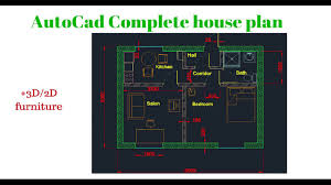 create house floor plan autocad complete floor plan part 1 creating house walls