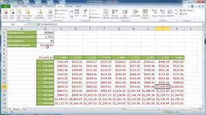 Two Way Tables Worksheet Create A Two Variable Data Table Youtube