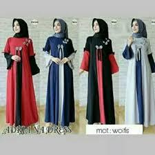 Baju Muslim Wanita jual tunik dress maxi gamis baju muslim wanita busana muslim