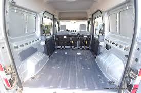 nissan cargo van 2012 2012 ford transit connect interior cargo area photography