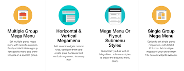 14 wordpress mega menu plugins 2017