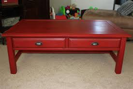stunning red coffee table with red living room tables rize studios
