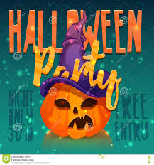 halloween party clipart template design greeting card flyer poster for happy halloween