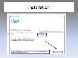 installer skype pour bureau skype pour débutants