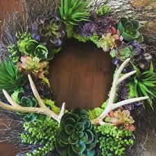 diy faux succulent wreath project tutorial create a beautiful