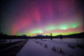 Northern Lights Michigan Forecast Northern Lights Rock North America