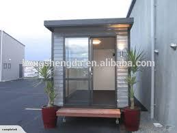 cabine bureau préfabriquée panneau sandwich mobile portable pliage bureau cabine