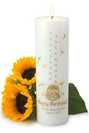 personalized birthday candles personalized birthday candle