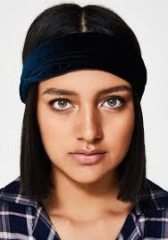 velvet headband midnight velvet headband dolls kill
