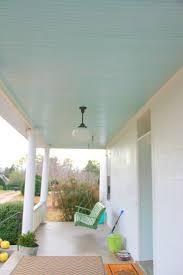 Front Porch Floor Paint Colors by Best 25 Blue Porch Ceiling Ideas On Pinterest Porch Ceiling