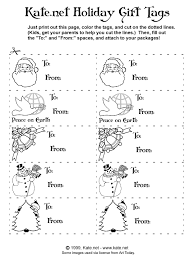 christmas gift tags coloring sheets coloring pages ideas