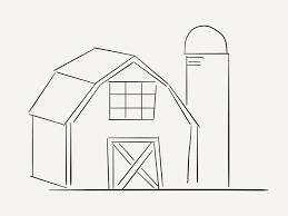 barn coloring page 6626