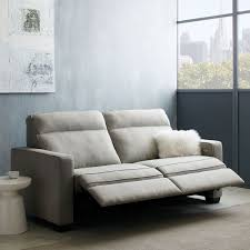 Power Leather Recliner Sofa Henry Power Recliner Sofa 77 West Elm