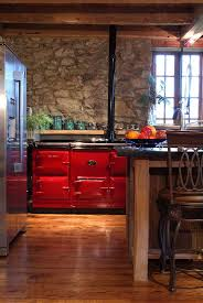 31 best red enamel range cookers and red aga stoves for great