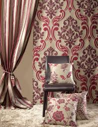 sleek floral pattern sheer curtain fabric polyester naja compagnie